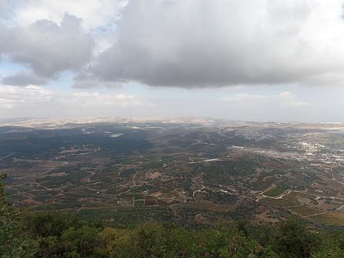 Utsikt mot nordøst