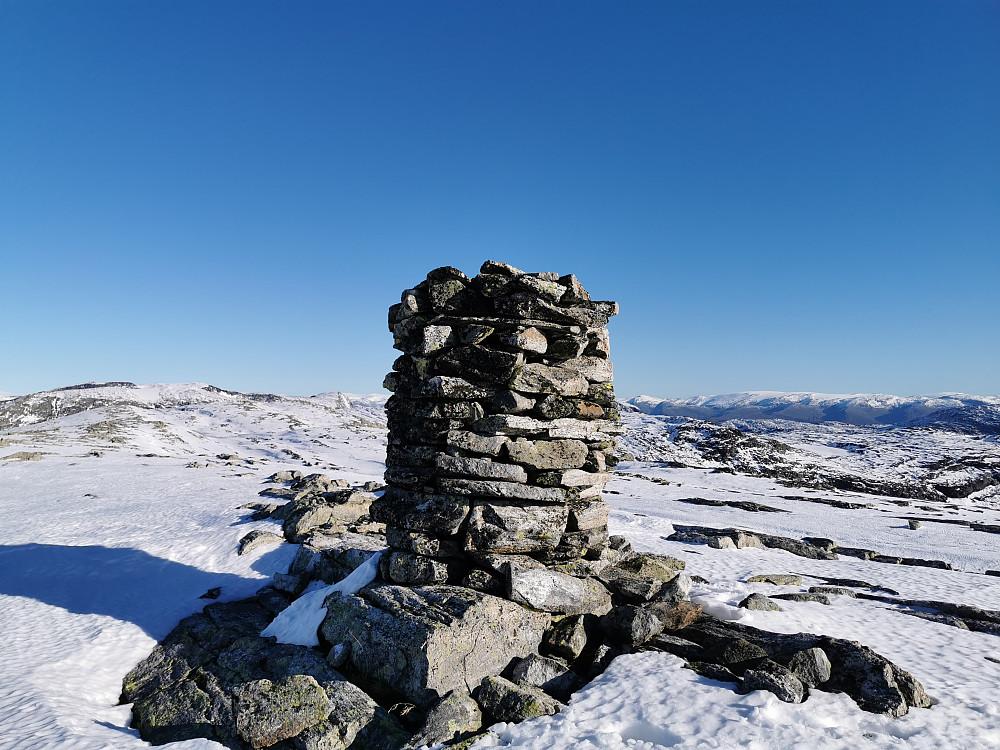 Blåfjellet 1390 moh. Grovabreen til høyre