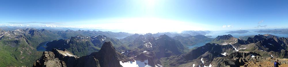 Panorama sør og vest