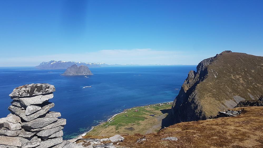 Fra Gjerdheia mot Nordlandsnupen