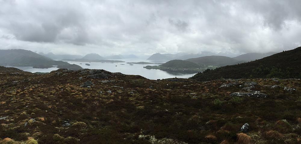 Obligatorisk panoramautsikt fra toppen