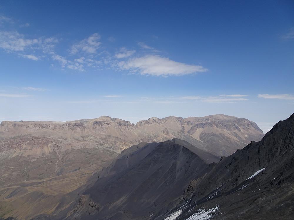 Utsikt mot Shahdagh 4243 moh