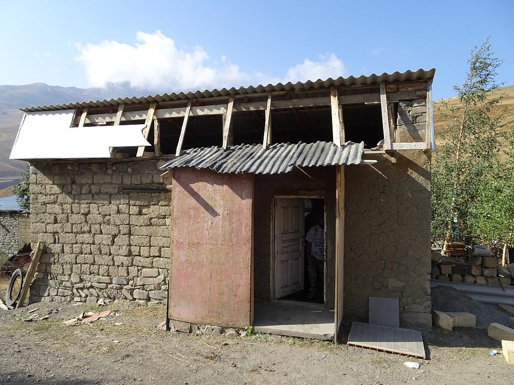 Gjestehuset vi bodde i. Kostet ikke mange manater