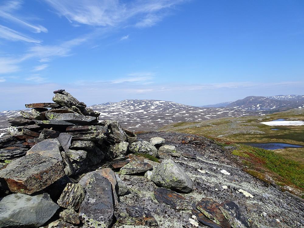 Toppen av Nautfjellet
