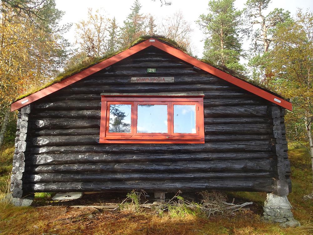 Sonvasskoia, den nest eldste koia i koienettet