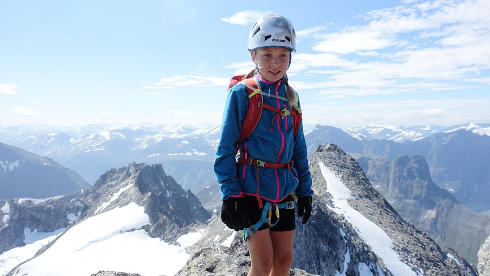 Ida har planer om å bli fjelldronning i løpet av året.