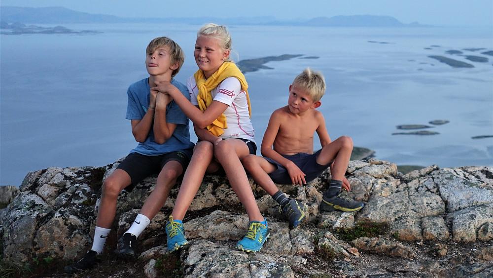 Ulrik, Mali og Lukas.