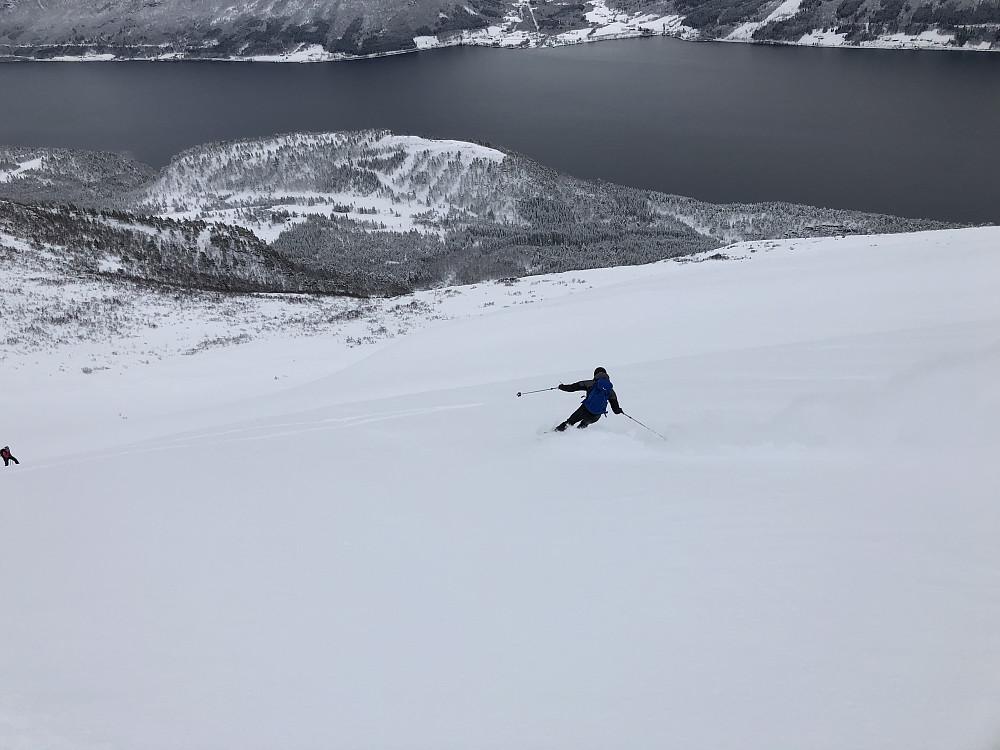 Toppen. Trond, Petter J. mfl hadde også fri i dag.