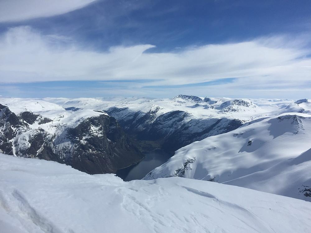 Utsikt mot Eikesdalen