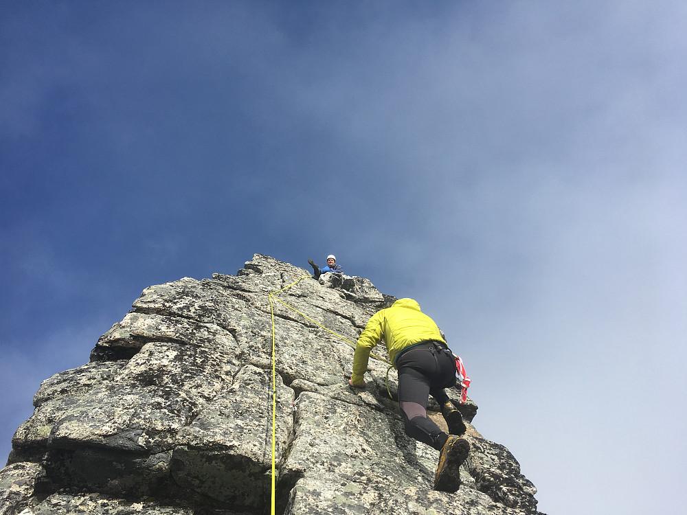 Thomas klatrer