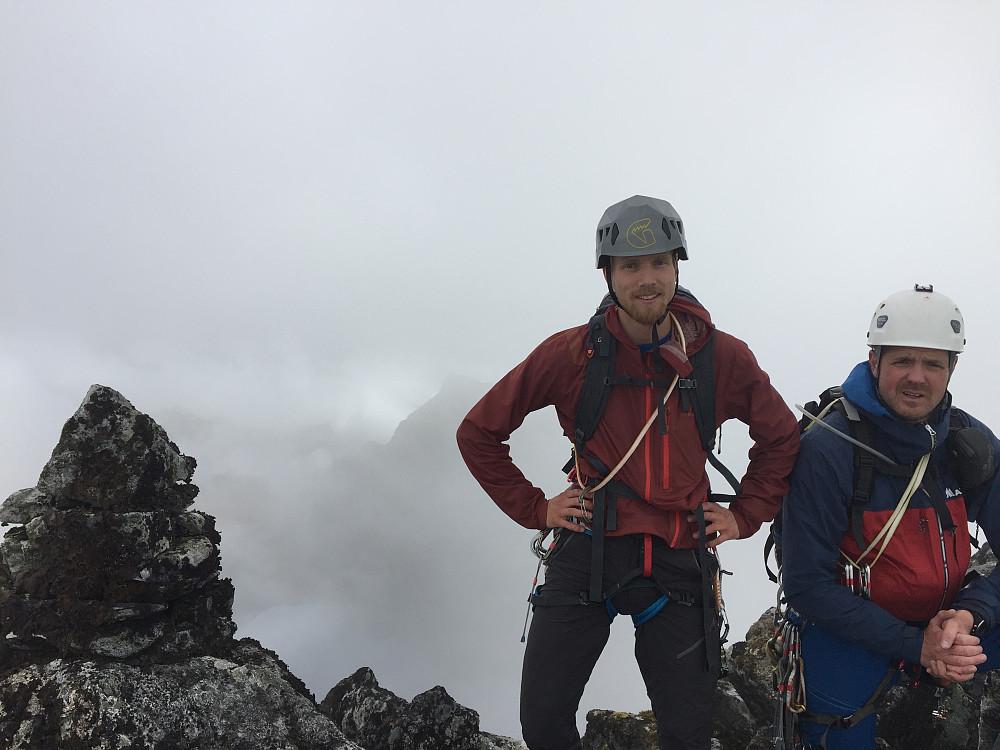Toppen av Svartevasstinden Foto: Thomas