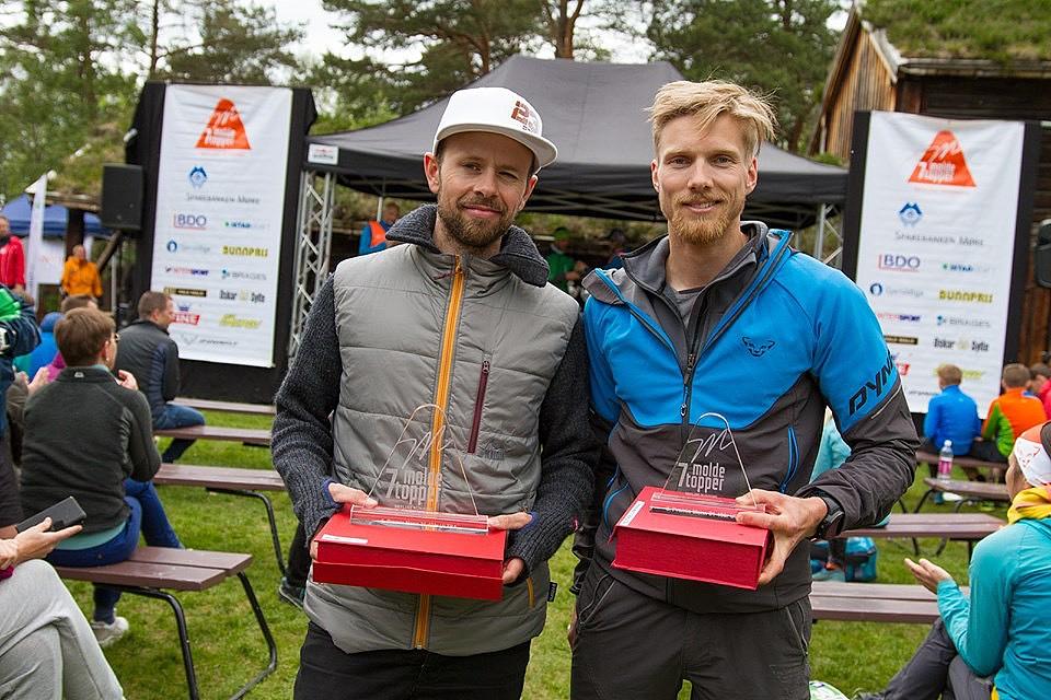Morten E. vant klassa, jeg kom på tredje