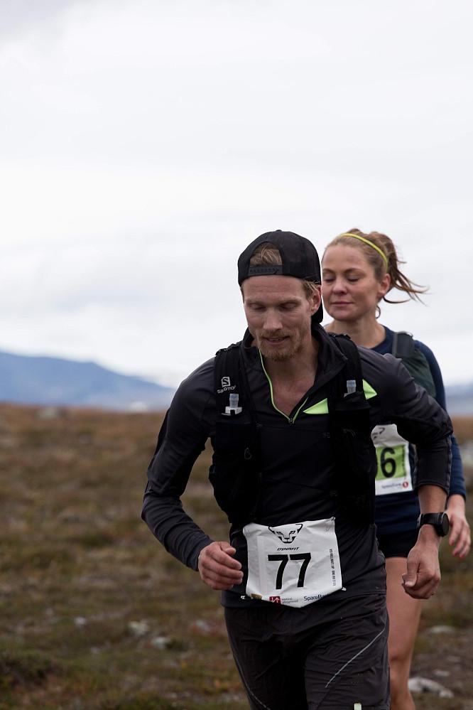 Et sted ute i løypa. Foto: Dynafit Trollheimen Fjellmaraton