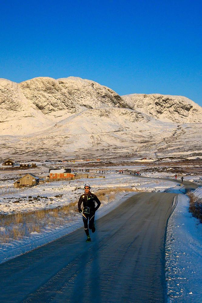 Kaldt, men fint vær. Foto: Rune Hermansen