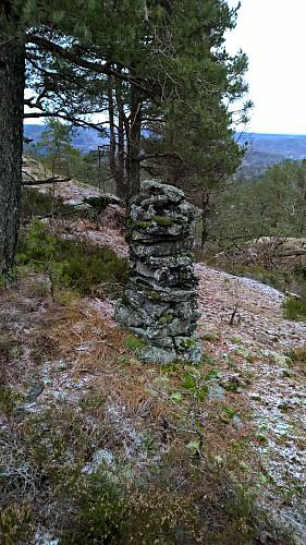 Varden på toppen av Barlindåsen