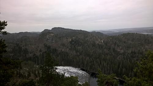Utsikt fra Storås