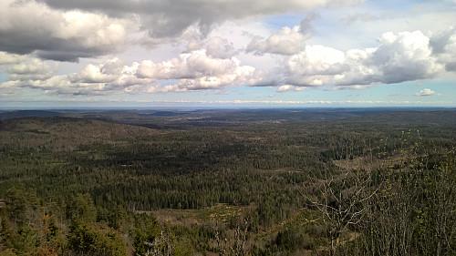 Utsikten fra utkikkspunktet