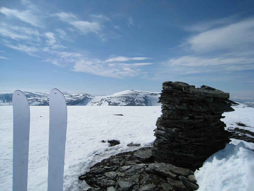 Sørhellhøi, sett fra Geitåhøi