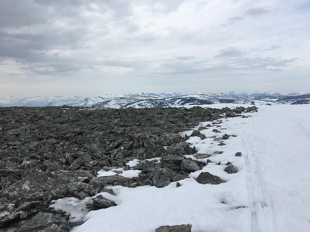 Geitåhøi, sett fra Sørhellhøi