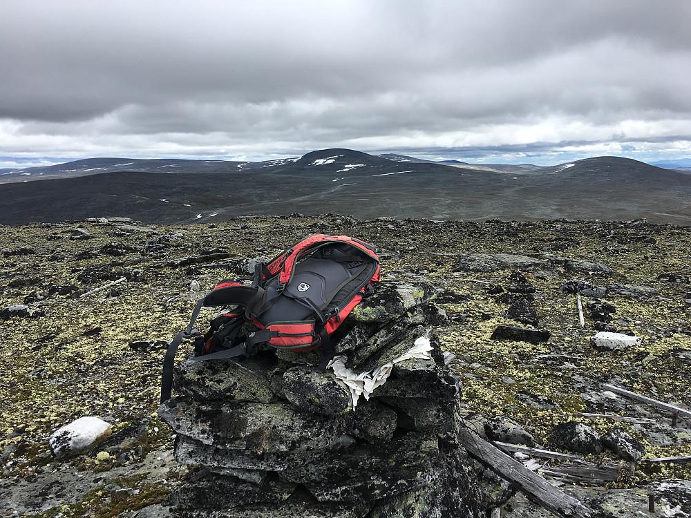 Fra Storhøi mot Skardtind og Storbrettingskollen