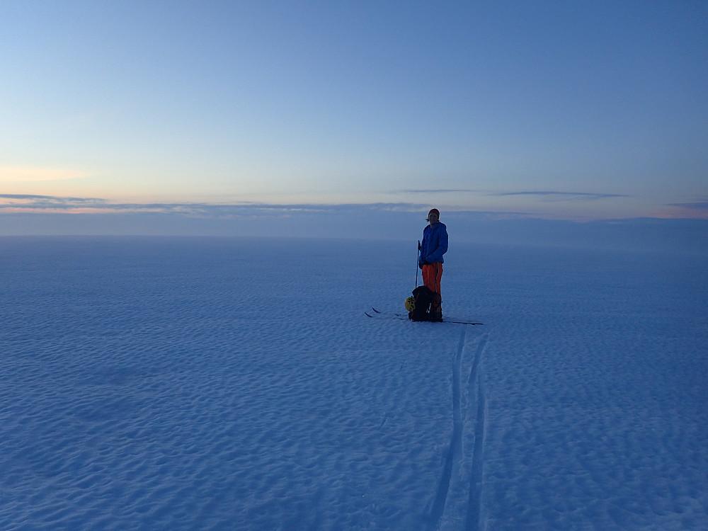 Siste toppunktet er i boks - Jondal, Folgefonna N, 1644 moh