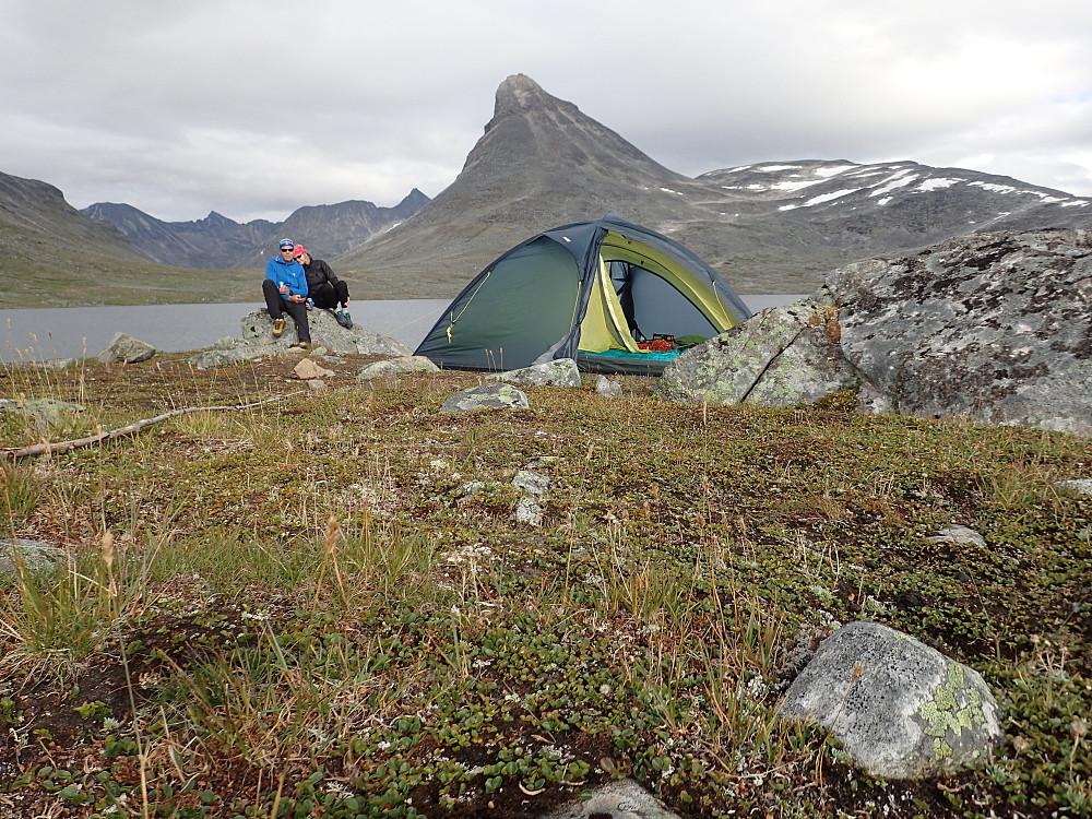 Verdens beste teltplass !!