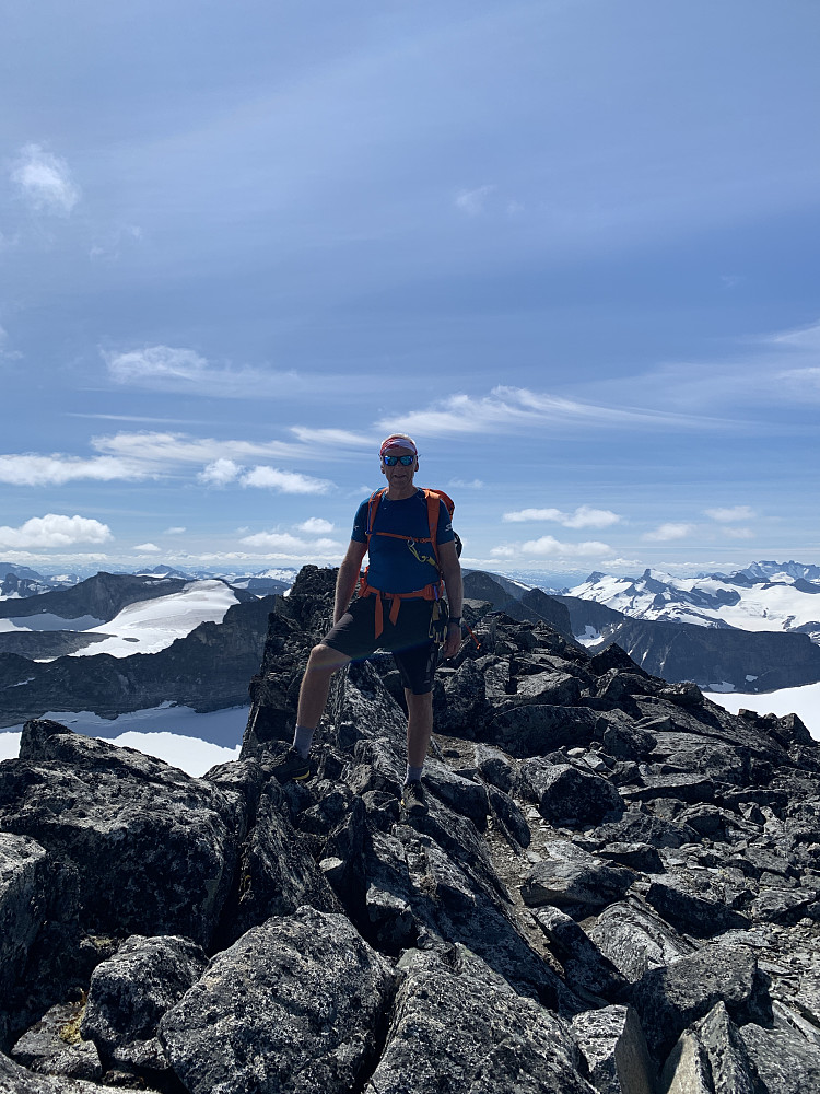 Toppen av Veslepiggen