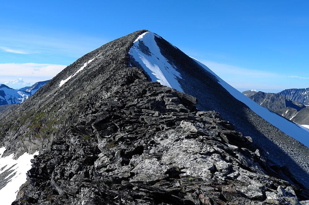 Topp-eggen på Skarfjellet