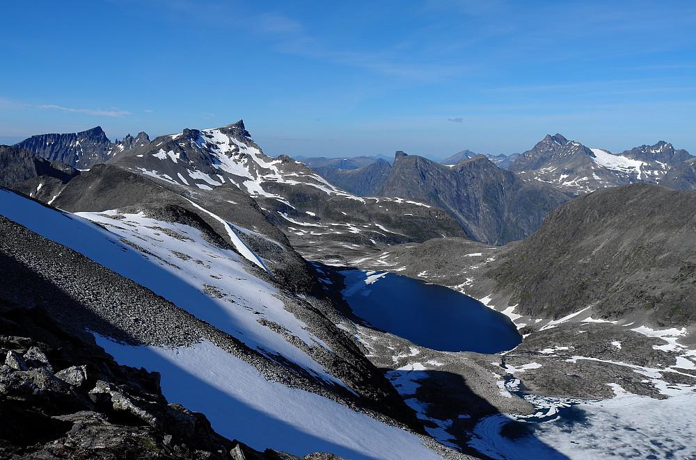 Trolltinden, Breitinden, Romsdalshorn og Vengetind