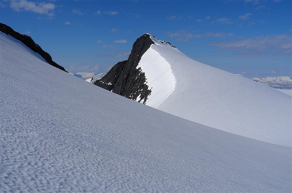 Vesttinden et elegant fjell