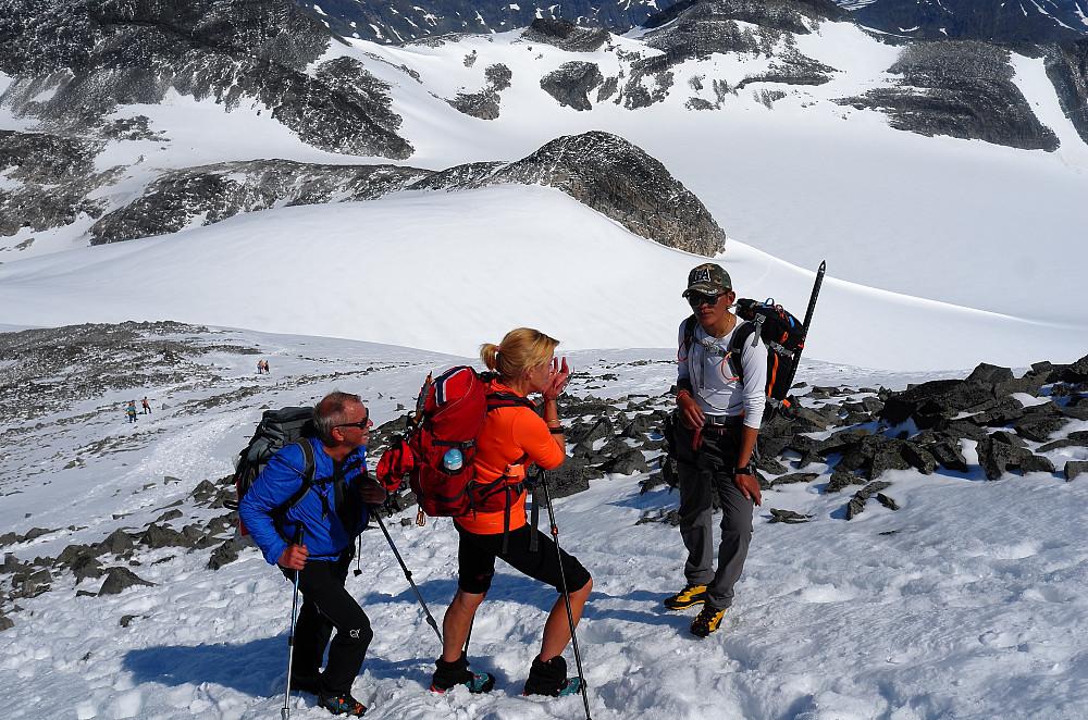 Guiden fra Nepal har b.l.a besteget Mount Everest..