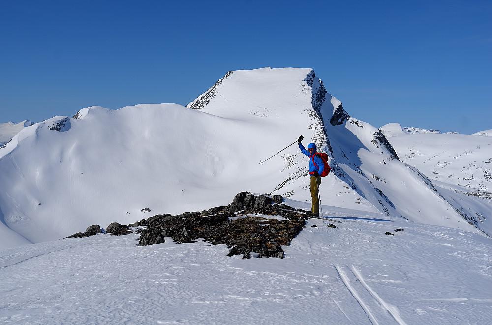 Neådalssnota neste stopp. Flott majestetisk topp i Trollheimen.