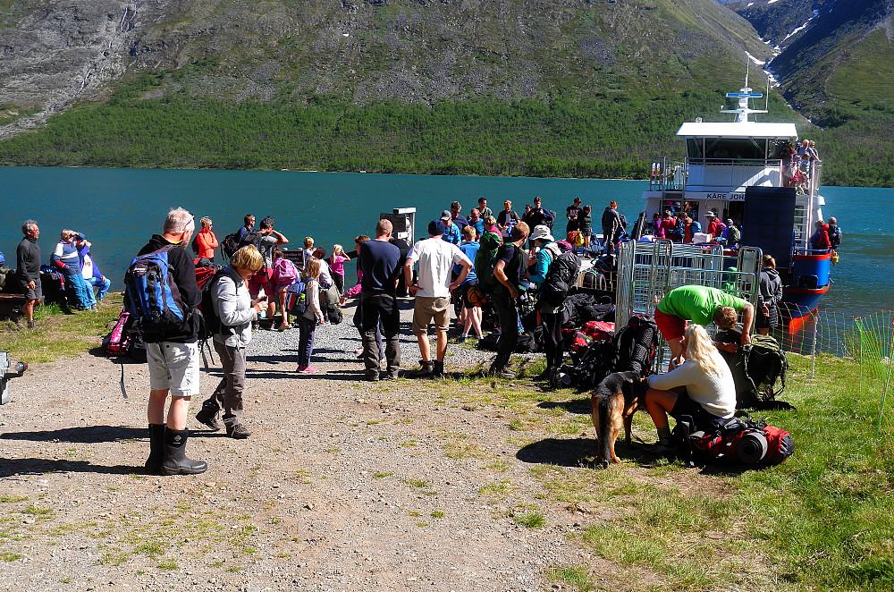 Turisten strømmer til Jotunheimen