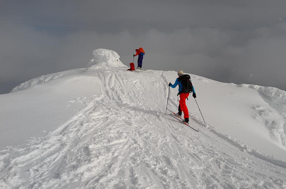 Til topps på Vannkista