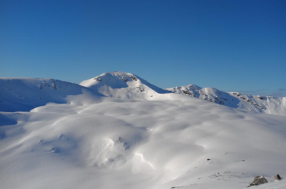 Storfjellet sett fra Finnheimfjellet