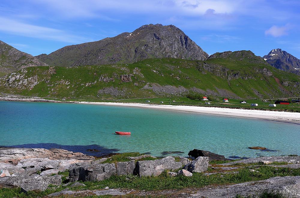 Hauklandstranda og Himmeltinden