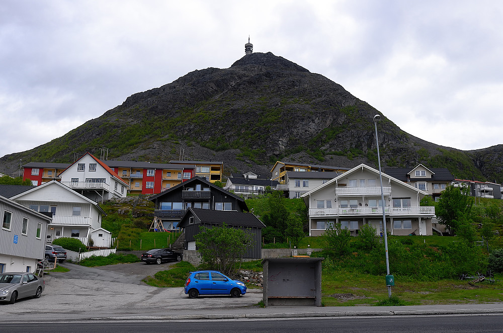 Toppen sett fra Rypefjord