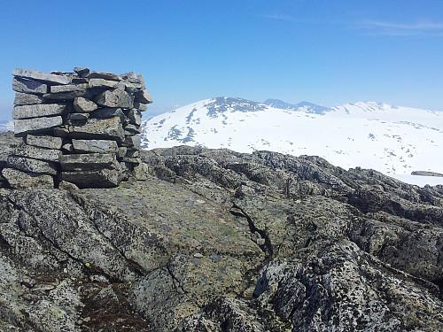 Fra Greinbreen mot Rivenoskulen & Tverrådalskyrkja/Steinkollen