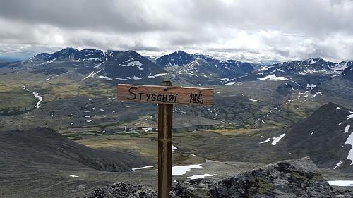 Småhaugan blir også kalt Stygghøi