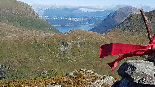 På Store Kuven; mot Solavågen & Spjelkavik