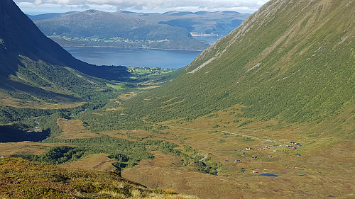 På Store Kuven; mot Årskogdalen