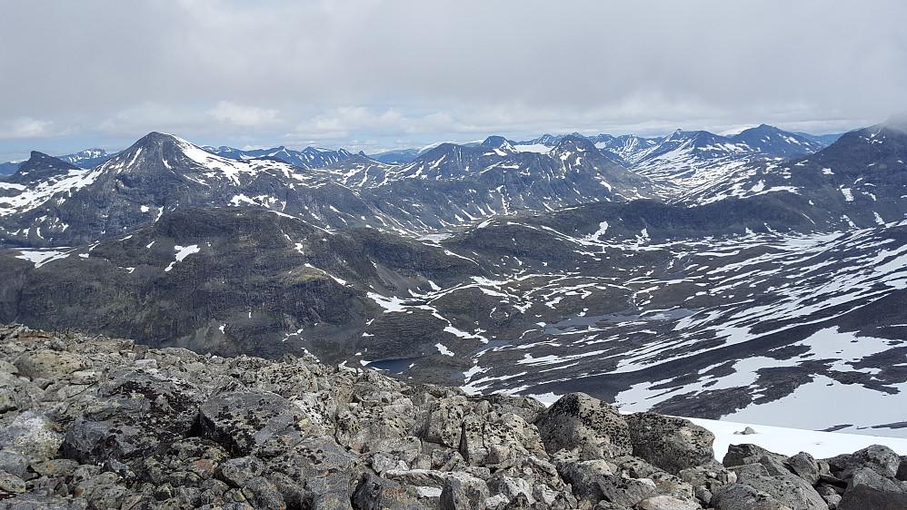Utsikt fra Nordre Sagi