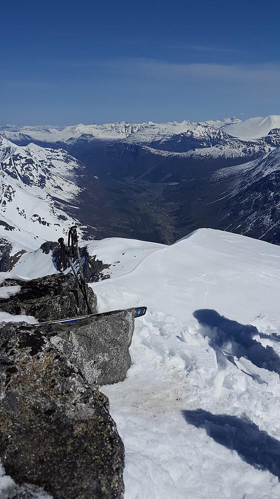 Utsikt mot Øksendalen