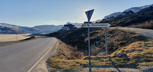 Vandring langs fv 50 (Hol - Aurland)