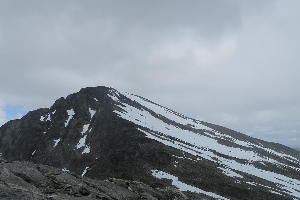 Pyttegga sett ifra oppstigningen til Høgstolen