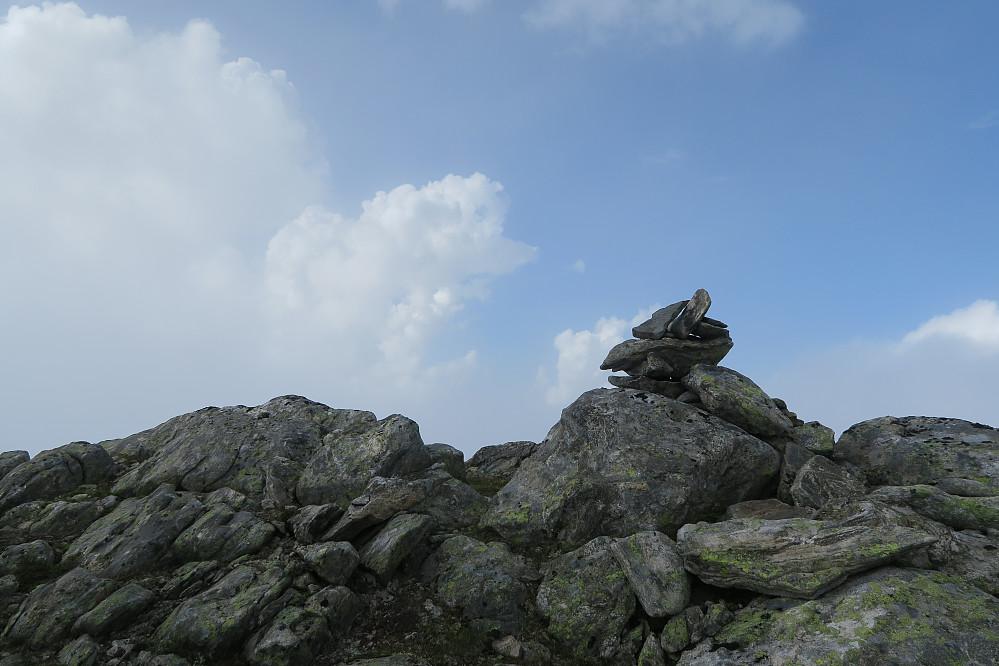 Toppvarden på nordvesttoppen