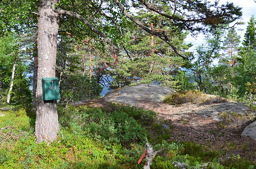 Trimposten på Meinstadfjellet
