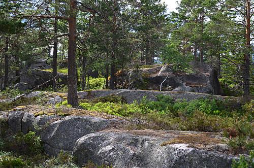 Toppen av Meinstadfjellet