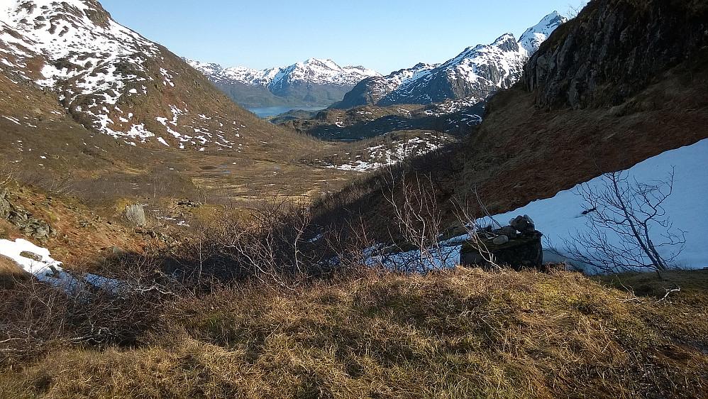 Siste delen av dalen tilbake.
