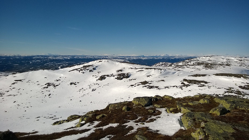 Vesttoppen sett fra Sørbølfjellet.